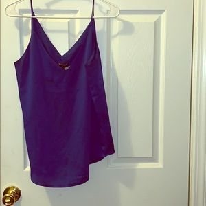 Express blue tank top . With tags.